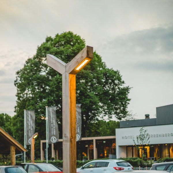 parkeerplaats lantaarn